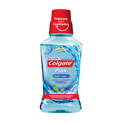 enjuague bucal colgate plax mint